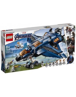 Конструктор LEGO Super Heroes Модернизированный квинджет Мстителей (76126) - bvl 76126