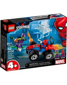 Конструктор LEGO Super Heroes Автомобильная погоня Человека-Паука (76133) - bvl 76133