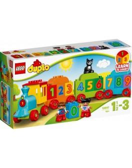Конструктор LEGO DUPLO Поезд с цифрами (10847) - bvl 10847