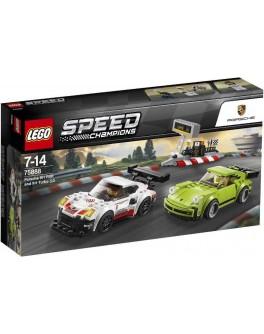 Конструктор LEGO Speed Champions Porsche 911 RSR и 911 Turbo 3.0 (75888) - bvl 75888