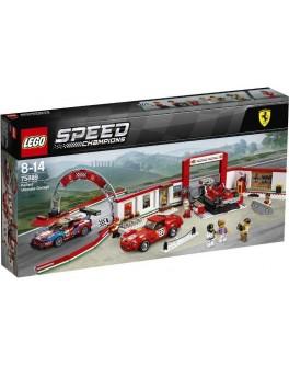 Конструктор LEGO Speed Champions Гараж Ferrari (75889) - bvl 75889