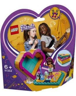 Конструктор LEGO Friends Шкатулка-сердечко Андреа (41354) - bvl 41354