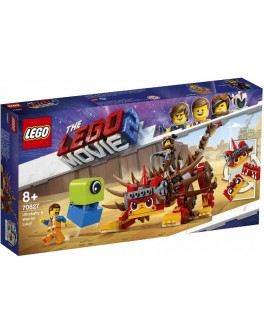 Конструктор LEGO® Movie УльтраКиса и воин Люси (70827) - bvl 70827