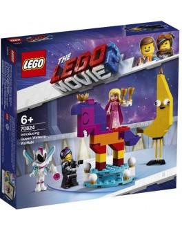 Конструктор LEGO® Movie Знакомство с королевой Многоликой Прекрасной (70824) - bvl 70824
