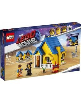 Конструктор LEGO® Movie Дом мечты Эммета / Спасательная ракета! (70831) - bvl 70831