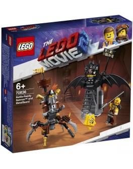 Конструктор LEGO® Movie Бэтмен и Железная Борода: К бою готовы (70836) - bvl 70836