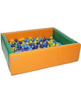 Сухой бассейн KIDIGO Прямоугольник 1,5 х 1,2 м - KIDI MMSB7
