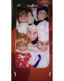 Домашний кукольный театр Профессии - alb B193