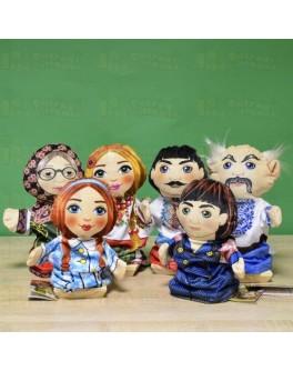 Кукольный театр Семья в вышиванках - iqgra 00605