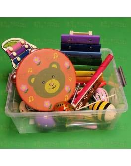 Набір музичних інструментів, 28 предметів. Нуш - нуш 28