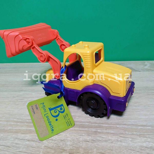 фото Игрушка для игры с песком Battat мини-экскаватор (BX1420Z) - KDS  BX1420Z