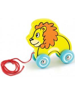 Іграшка-каталка Viga Toys Лев (50090) - afk 50090