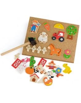 Набор для творчества Viga Toys Ферма (51606) - afk 51606