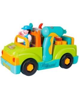 Музична іграшка Hola Toys Вантажівка з інструментами (6109) - afk 6109