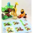 Конструктор JDLT Зоопарк 26 деталей, великі деталі - ves 5289