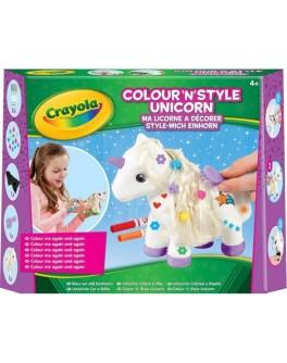 Набір для творчості Crayola з фломастерами Єдиноріг - ves 93020