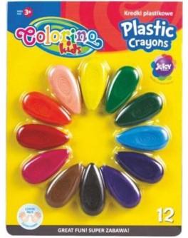 Крейди воскові Пелюсток Colorino 12 кольорів - ves 67294