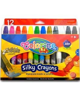 Воскова крейда Colorino супер м'яка 12 кольорів - ves 36078