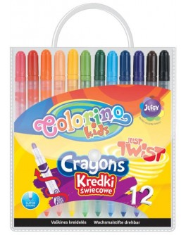 Воскова крейда Colorino 12 кольорів - ves 14076