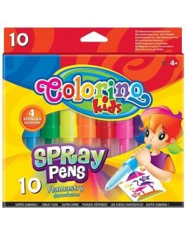 Фломастери повітряні Colorino 10 кольорів - ves 32605