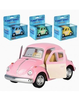 Машинка коллекционная Kinsmart Funny Series, 4 цвета (KT 4026 WC) - mpl KT 4026 WC