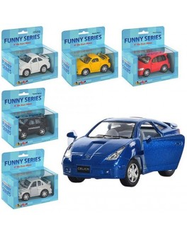 Машинка коллекционная Kinsmart Funny Series - mpl KT 4008-16 W