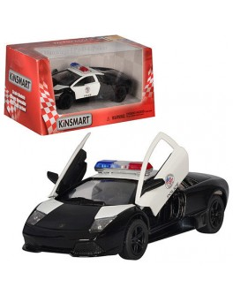 Машинка коллекционная Kinsmart Lamborghini Murcielago Полиция (KT 5317 WP) - mpl KT 5317 WP