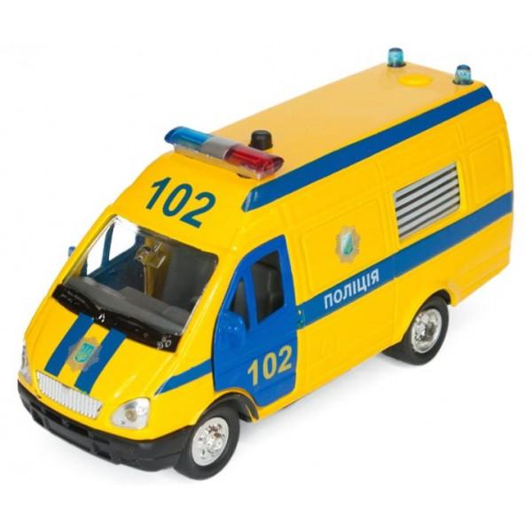машинка инерционная полиция, технопарк