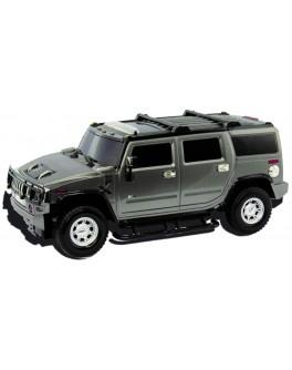 Автомодель - HUMMER H2 (ассорти серый, красный, 1:26, свет, звук, инерц.)