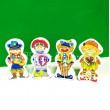 Дерев'яна іграшка Пазли магнітні (MD 0948) - ves MD0948