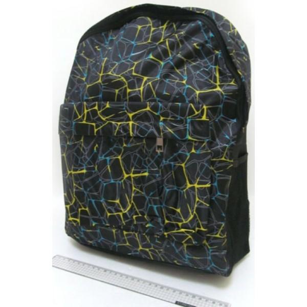 Рюкзак підлітковий м'який Капіляри з кишенею - mlt 0633-B-4