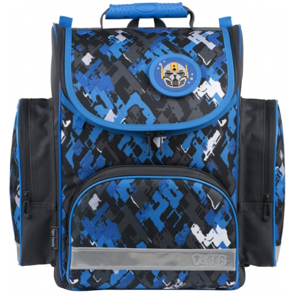Ранець Blue Bricks для учнів початкової школи, об'єм 13 л - ves TGSR18-A01
