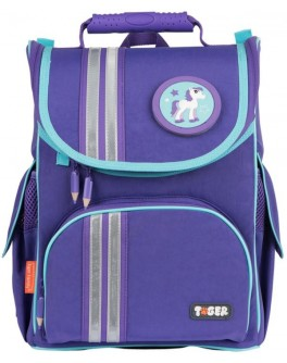 Ранец Nature Quest Minty Purple для учениц начальной школы, объем 13 л