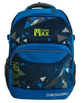 Ранец Discovery Backpack Triangles для учеников старшей школы, объем 23 л - ves TMDC18-A05