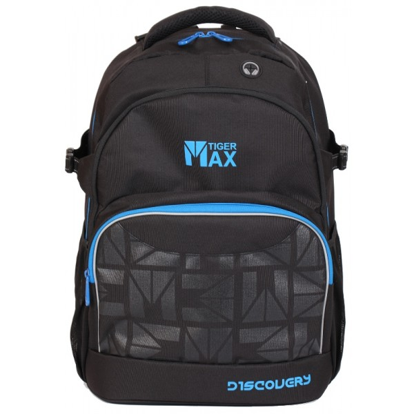 Ранец Discovery Backpack Solid Black