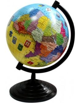 Глобус политический Украина 16 см - kanc 69022