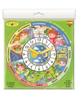 Игра Изучаем время: Испанский язык - eplus 15173863