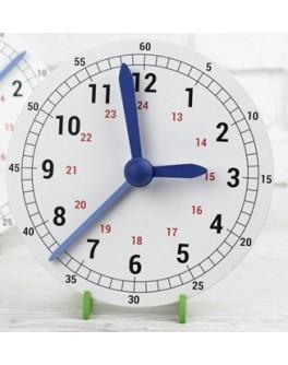 Навчальний механічний годинник макет 230 мм - нуш 300674