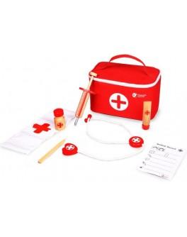 Дерев'яна іграшка Classic World Набір лікаря  - CW 4161