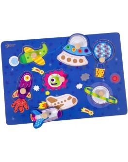 Дерев'яна іграшка Classic World Вкладиш Космос - CW 3616