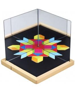 Магнітна гра Classic World з дзеркалами Візуалізація - CW 3536