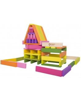 Дерев'яна іграшка Classic World Будівельні планки 100 штук - CW 3529