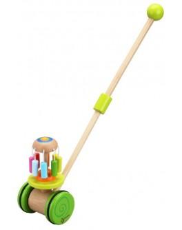 Дерев'яна іграшка Classic World Каталка Веселка - CW 3305