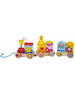 Дерев'яна іграшка Classic World Паровозик - CW 2558