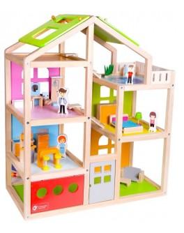 Дерев'яна іграшка Classic World Весела Вілла - CW 4152