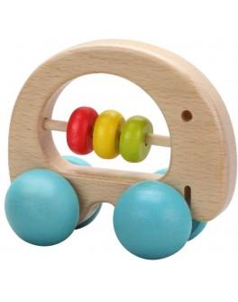 Дерев'яна іграшка Classic World Брязкальце каталка Слоник - CW 3052