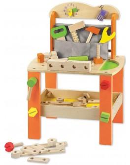 Дерев'яна іграшка Classic World Великий Стіл Майстерня - CW 3646