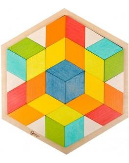 Дерев'яна іграшка Classic World 3Д пазл - CW 3728