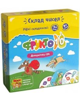 Карточная игра Фрукто-10 Банда умников  - pi УМ002/УКР002