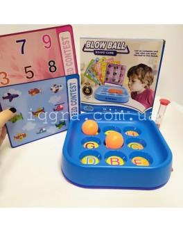 Дуй на мяч Логопедическая  игра с песочными часами - mpl 5066